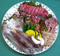 海鮮・焼き肉セット 一人前 税込2,500円〜